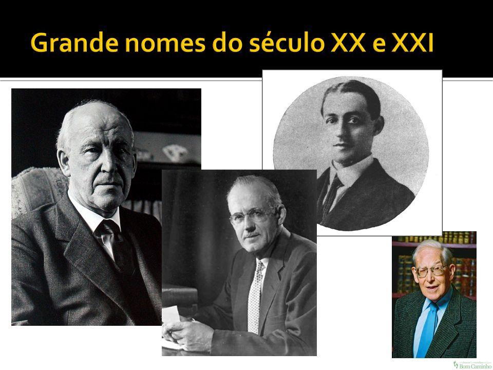 Grande nomes do século XX e XXI