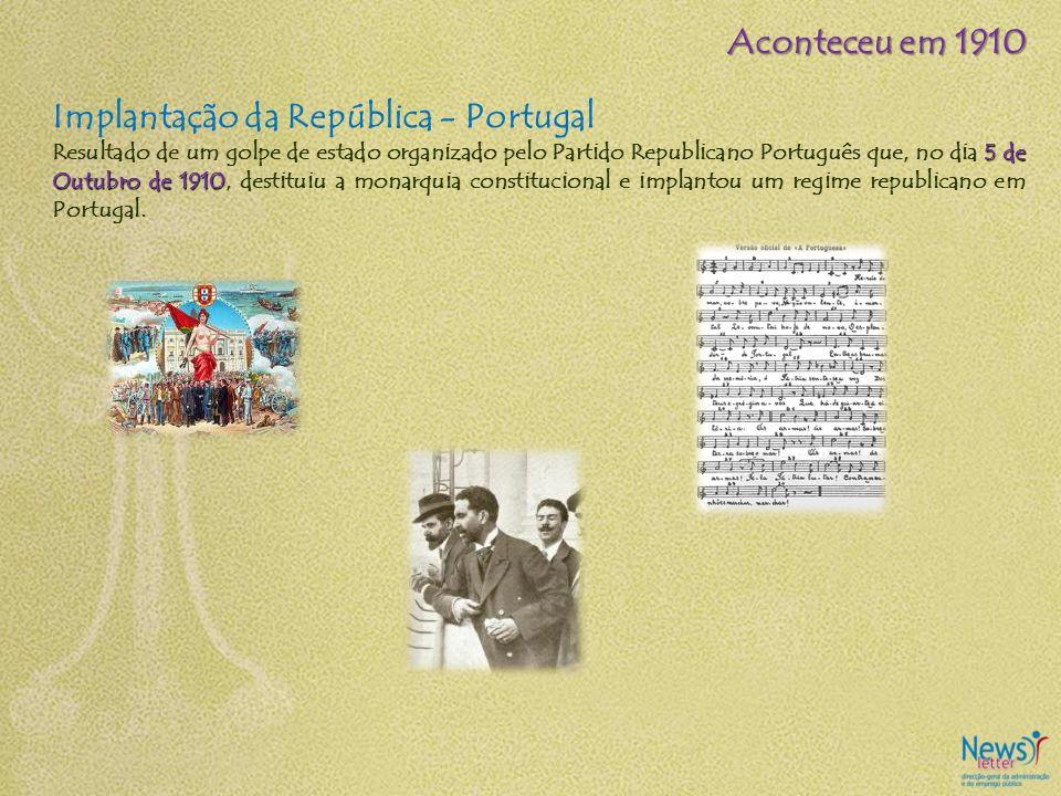 Implantação da República - Portugal