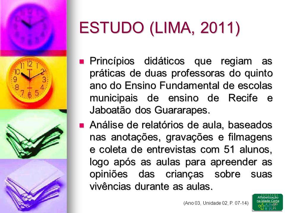 ESTUDO (LIMA, 2011)