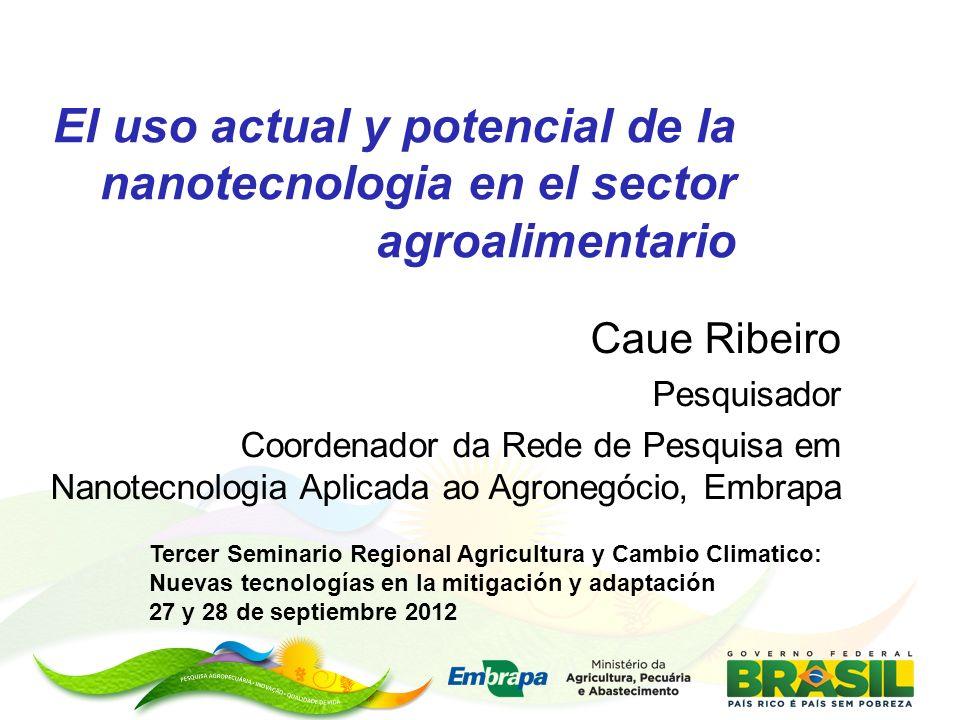 El uso actual y potencial de la nanotecnologia en el sector agroalimentario