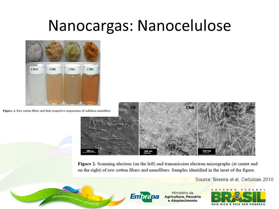Nanocargas: Nanocelulose