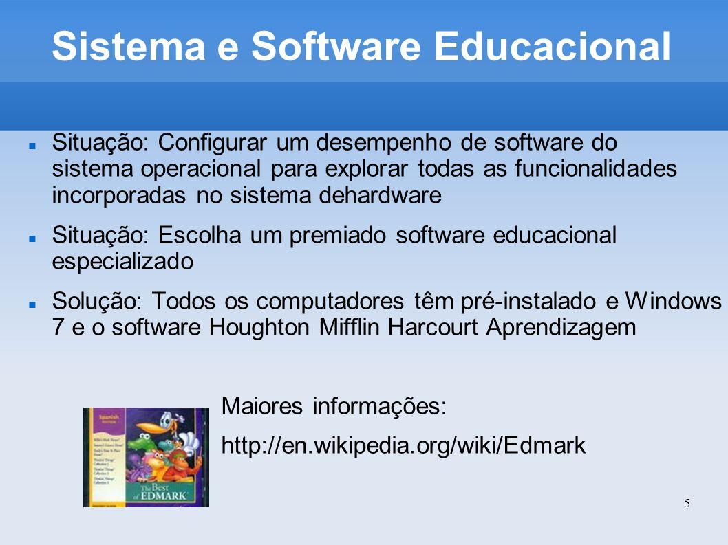 Sistema e Software Educacional