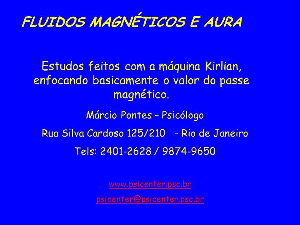FLUIDOS MAGNÉTICOS E AURA