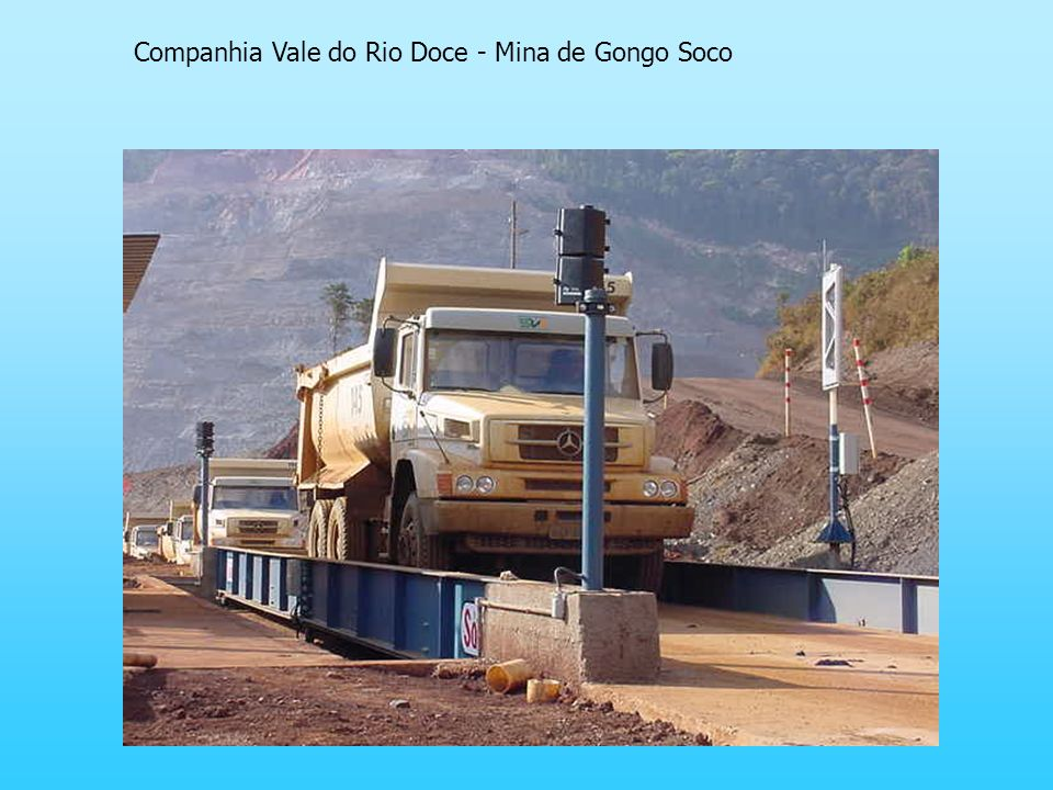 Companhia Vale do Rio Doce - Mina de Gongo Soco