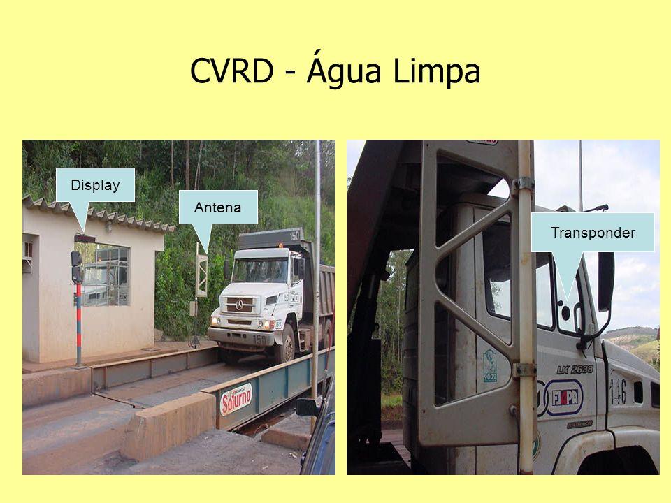 CVRD - Água Limpa Display Antena Transponder