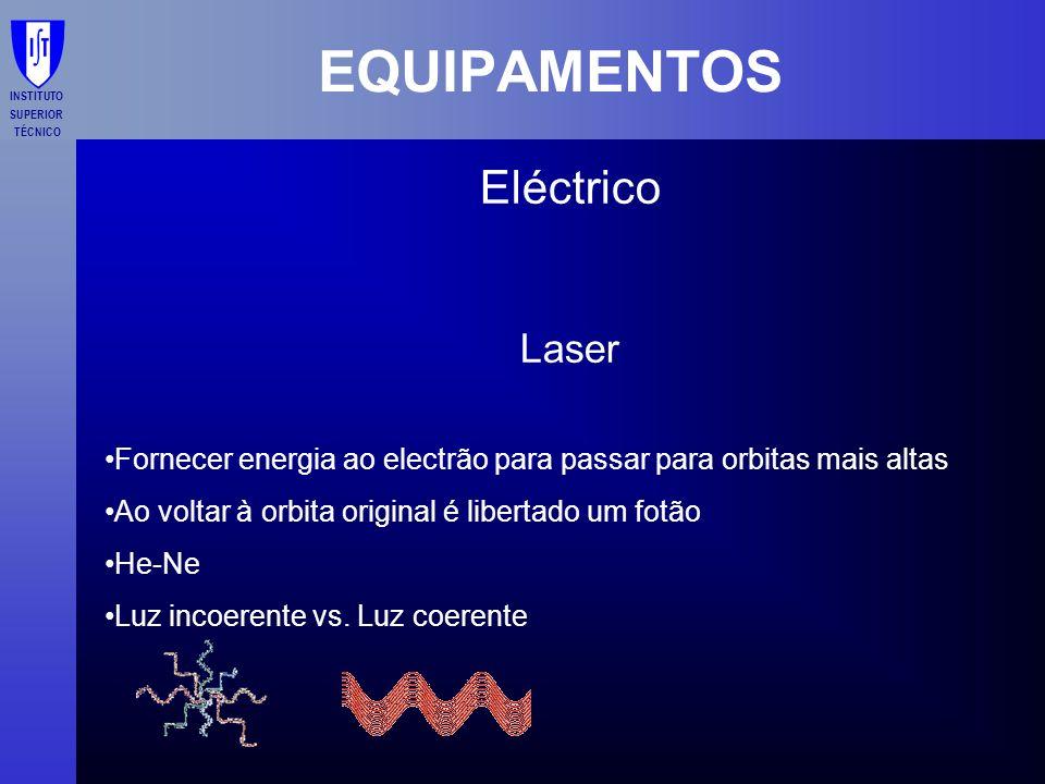 EQUIPAMENTOS Eléctrico Laser