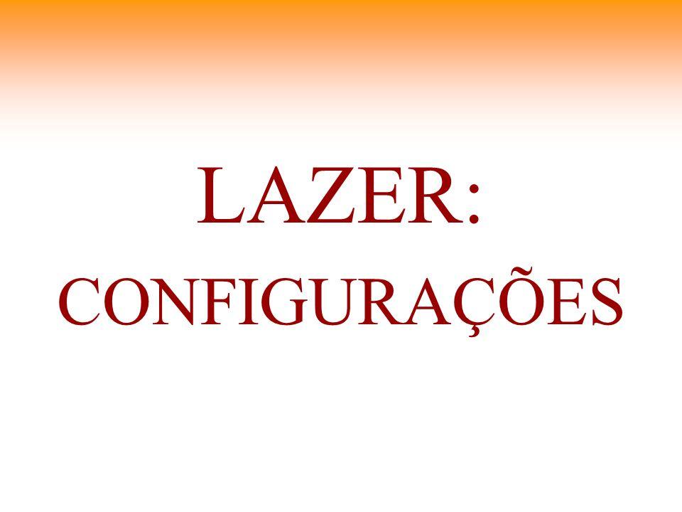 LAZER: CONFIGURAÇÕES