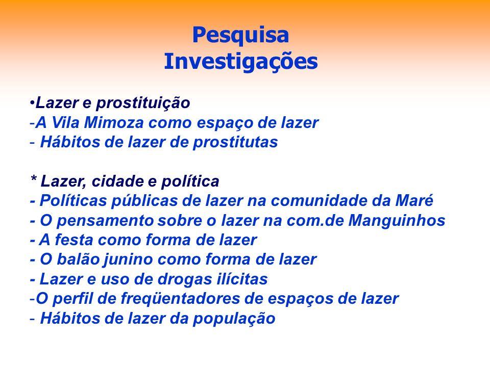 Pesquisa Investigações