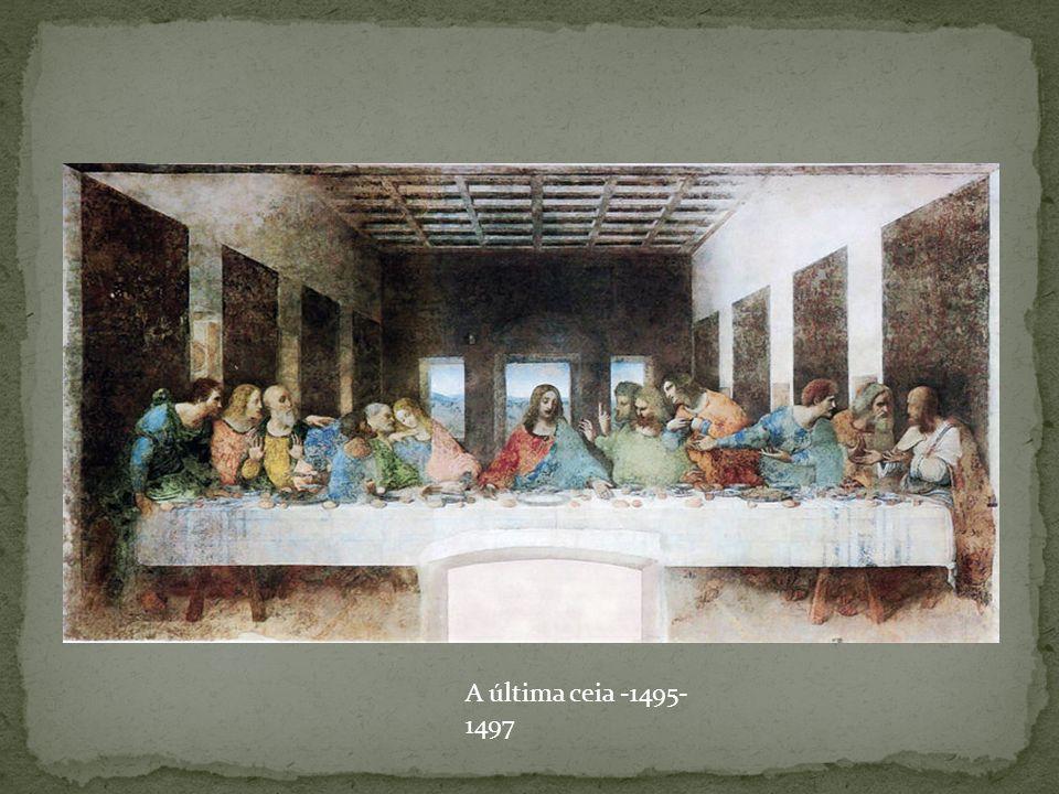 A última ceia -1495-1497