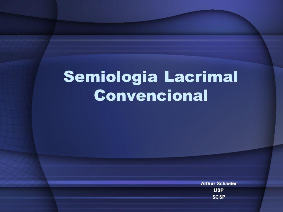 Semiologia Lacrimal Convencional