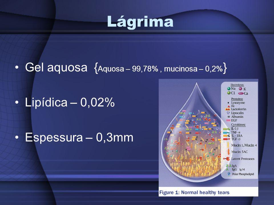 Lágrima Gel aquosa {Aquosa – 99,78% , mucinosa – 0,2%}