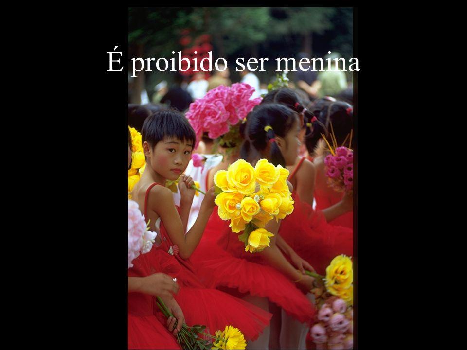 É proibido ser menina