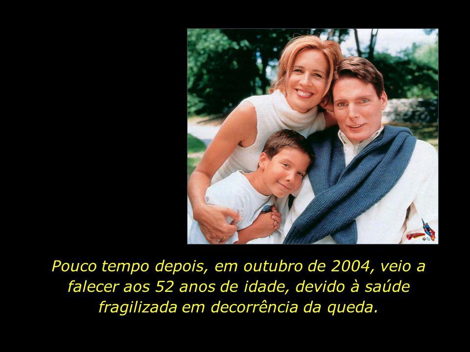 Pouco tempo depois, em outubro de 2004, veio a falecer aos 52 anos de idade, devido à saúde fragilizada em decorrência da queda.