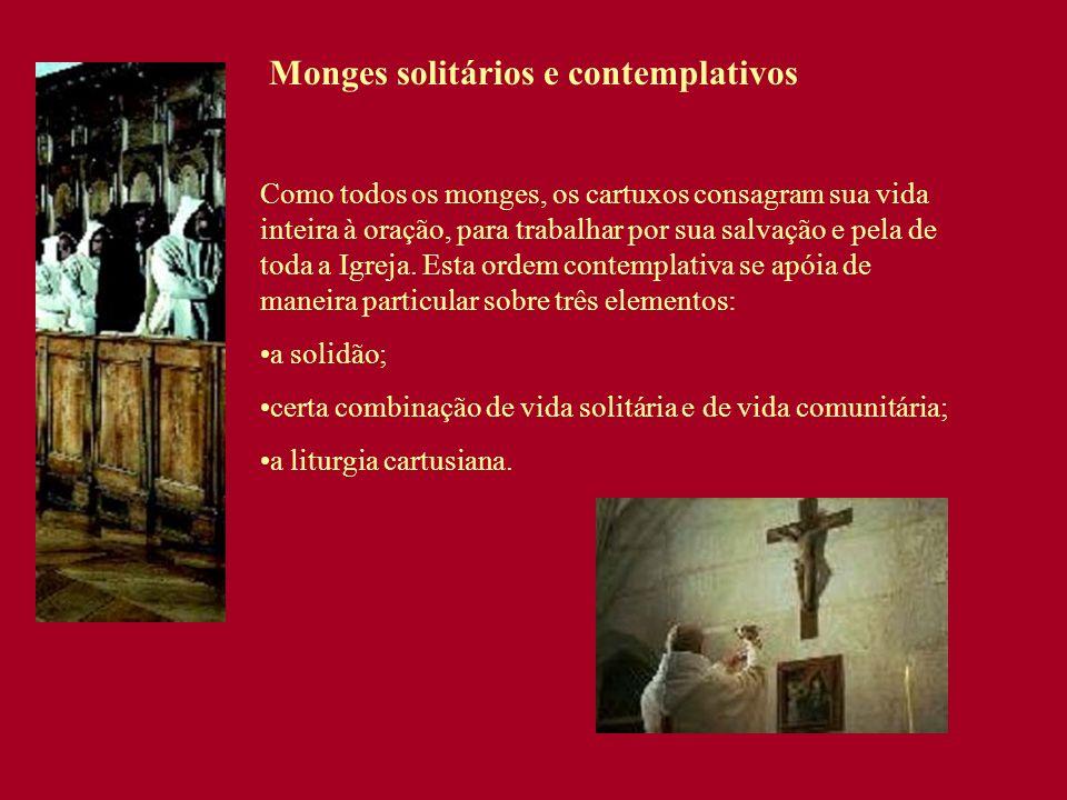 Monges solitários e contemplativos