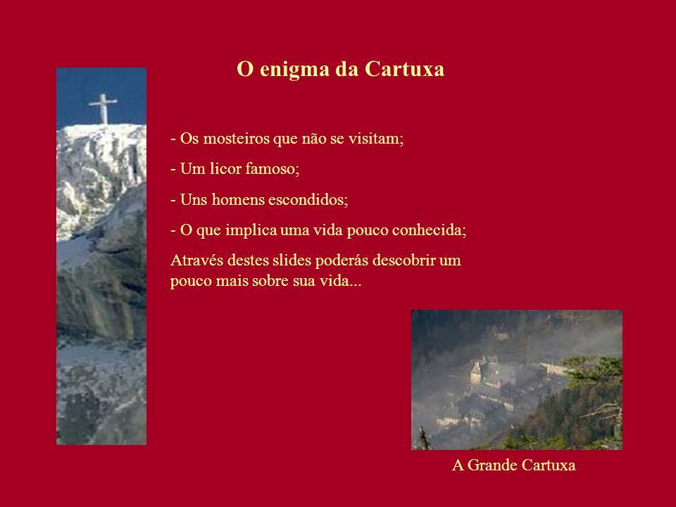 O enigma da Cartuxa - Os mosteiros que não se visitam;