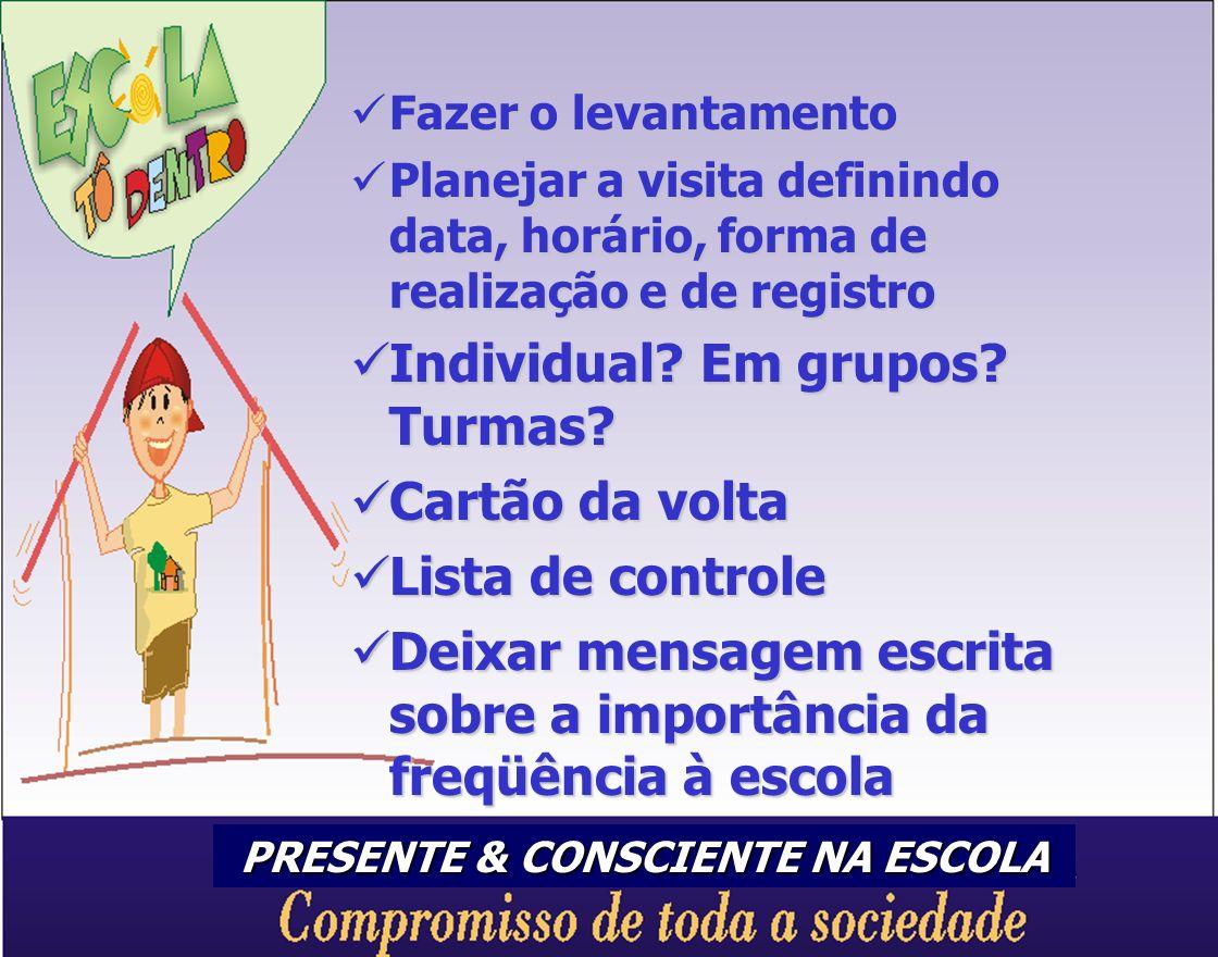 PRESENTE & CONSCIENTE NA ESCOLA