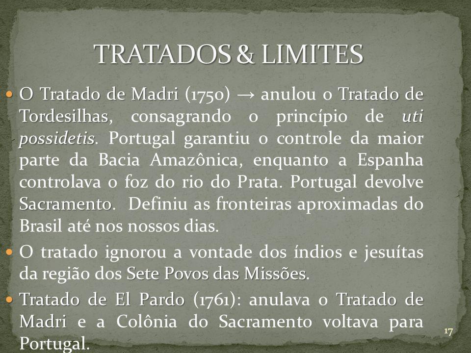 TRATADOS & LIMITES