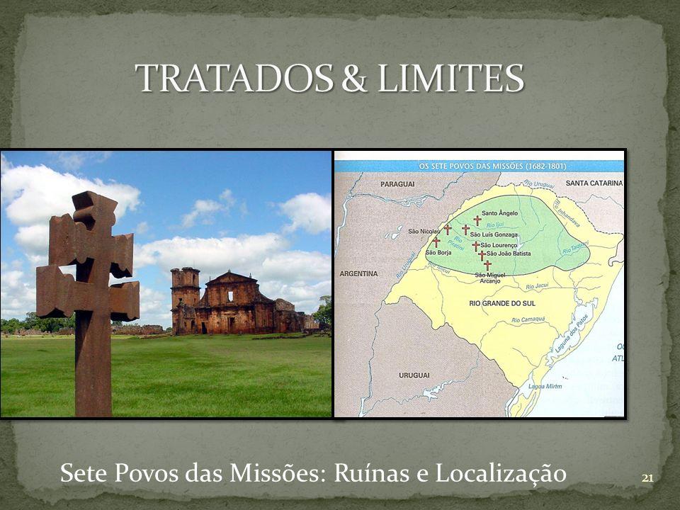 Sete Povos das Missões: Ruínas e Localização