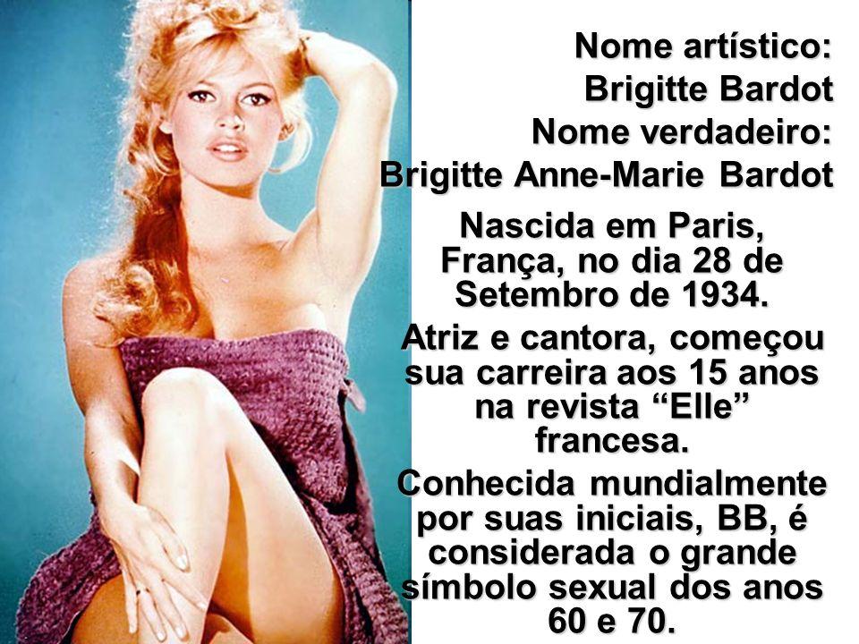 Nascida em Paris, França, no dia 28 de Setembro de 1934.