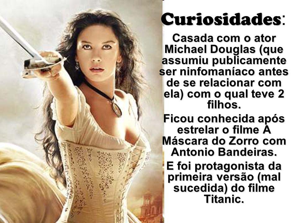 E foi protagonista da primeira versão (mal sucedida) do filme Titanic.