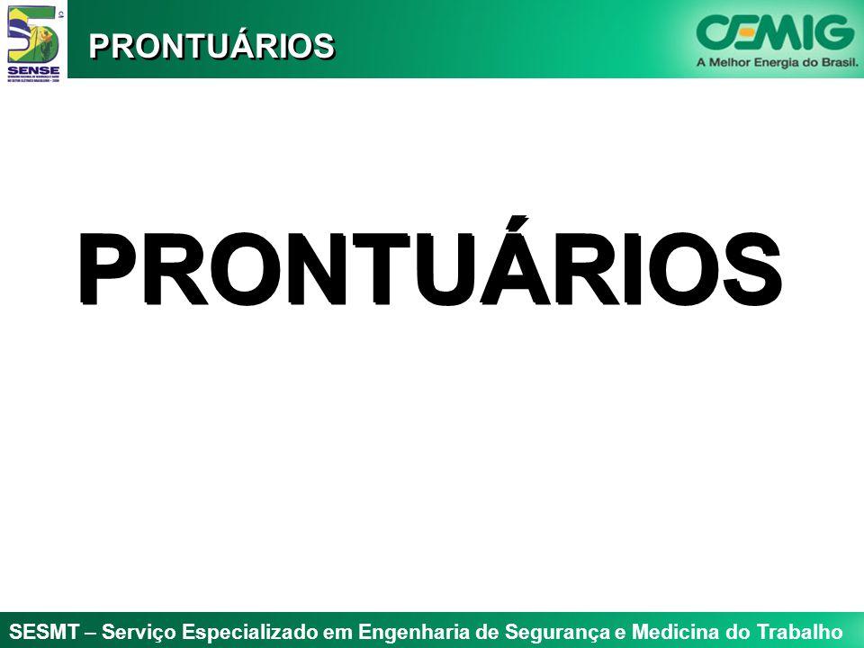 PRONTUÁRIOS PRONTUÁRIOS
