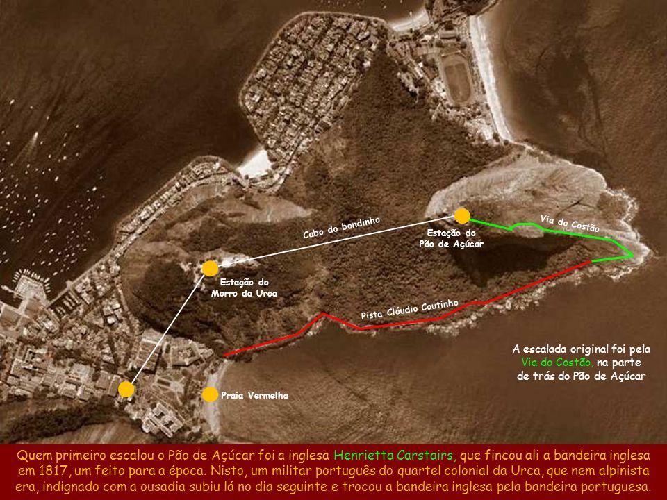 Estação do Morro da Urca Pista Cláudio Coutinho
