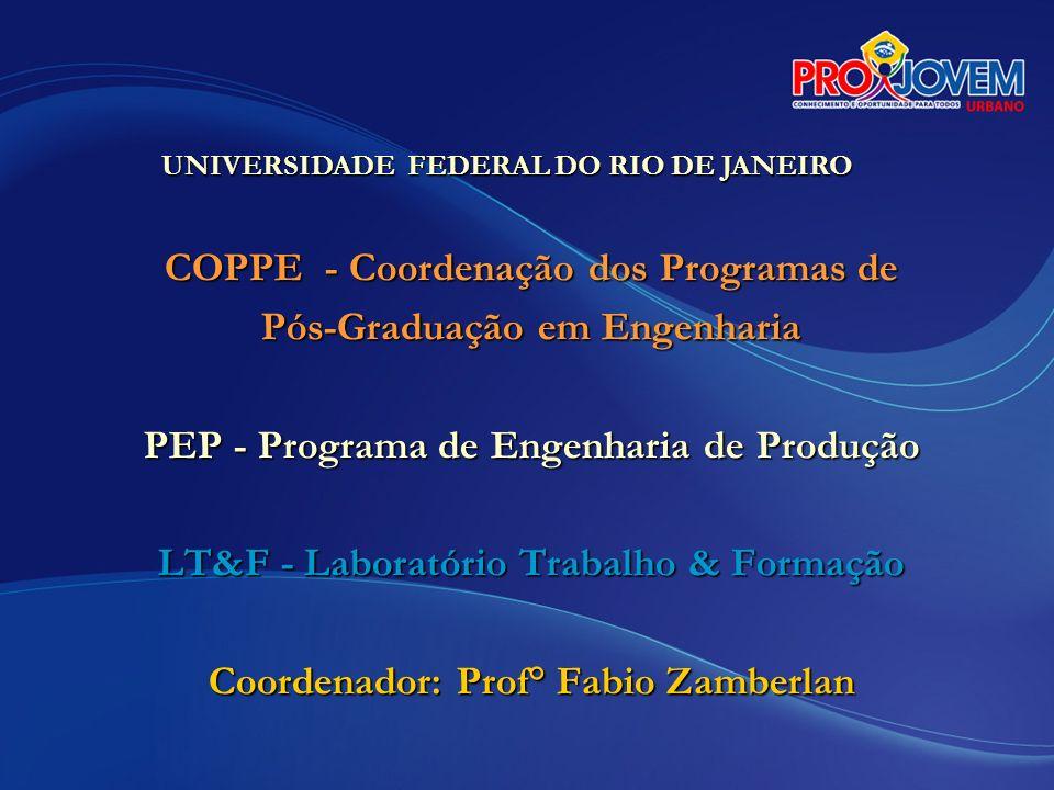 COPPE - Coordenação dos Programas de Pós-Graduação em Engenharia