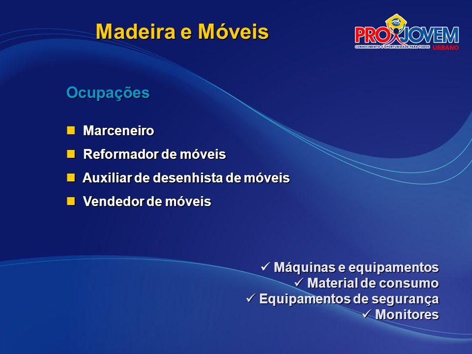 Madeira e Móveis Ocupações Marceneiro Reformador de móveis