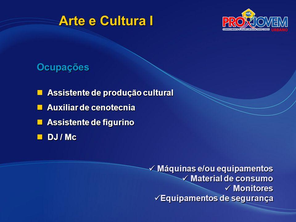 Arte e Cultura I Ocupações Assistente de produção cultural