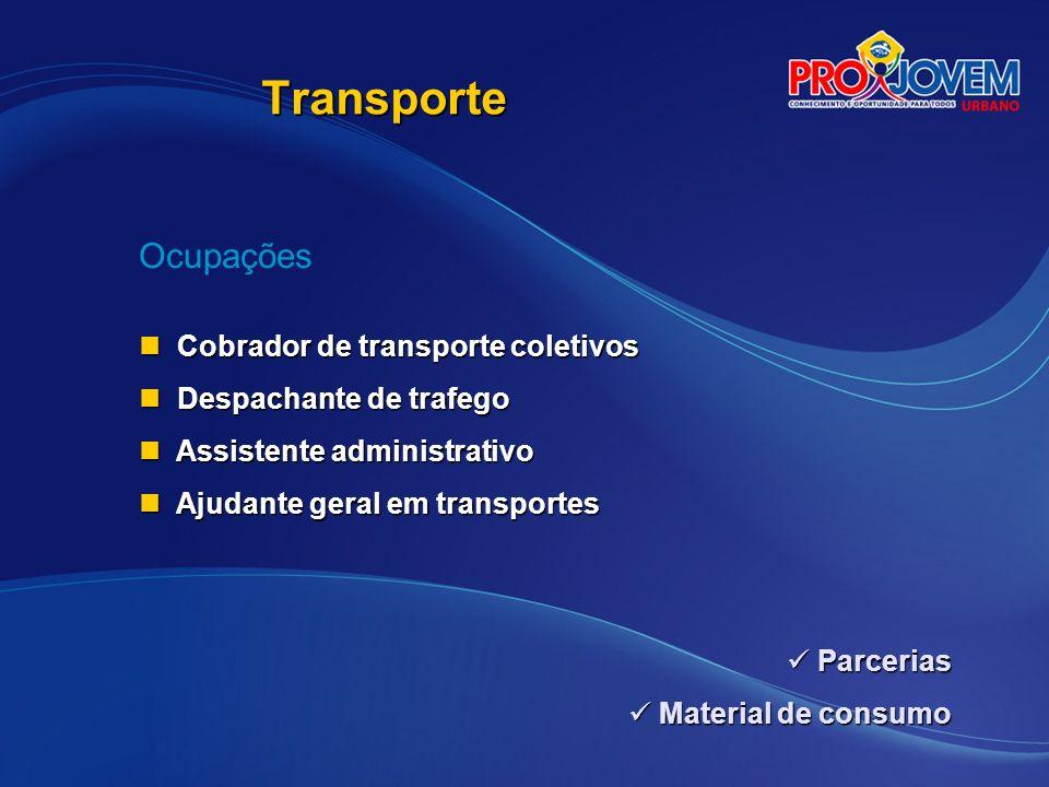 Transporte Ocupações Cobrador de transporte coletivos