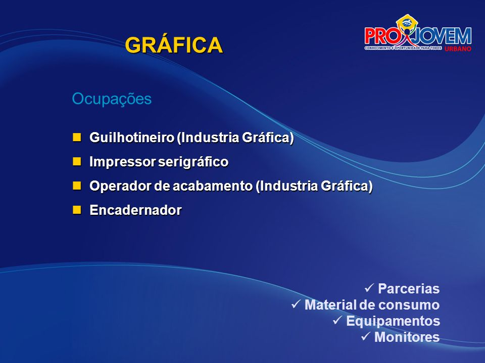 GRÁFICA Ocupações Guilhotineiro (Industria Gráfica)