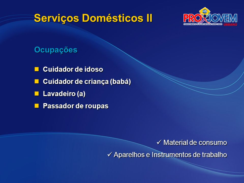 Serviços Domésticos II