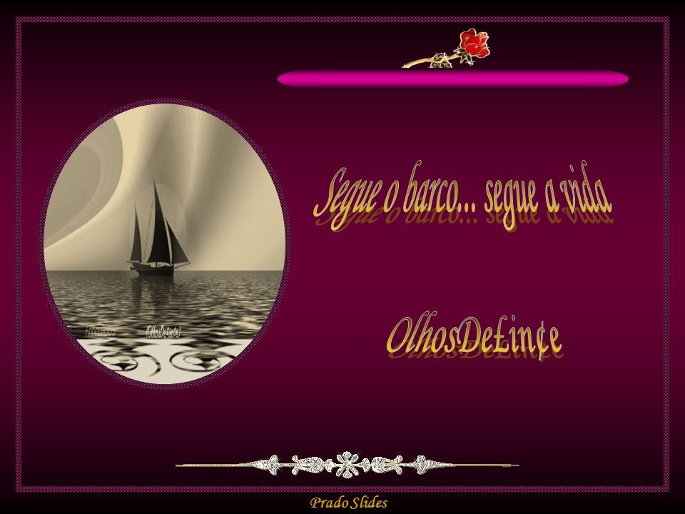 Segue o barco... segue a vida