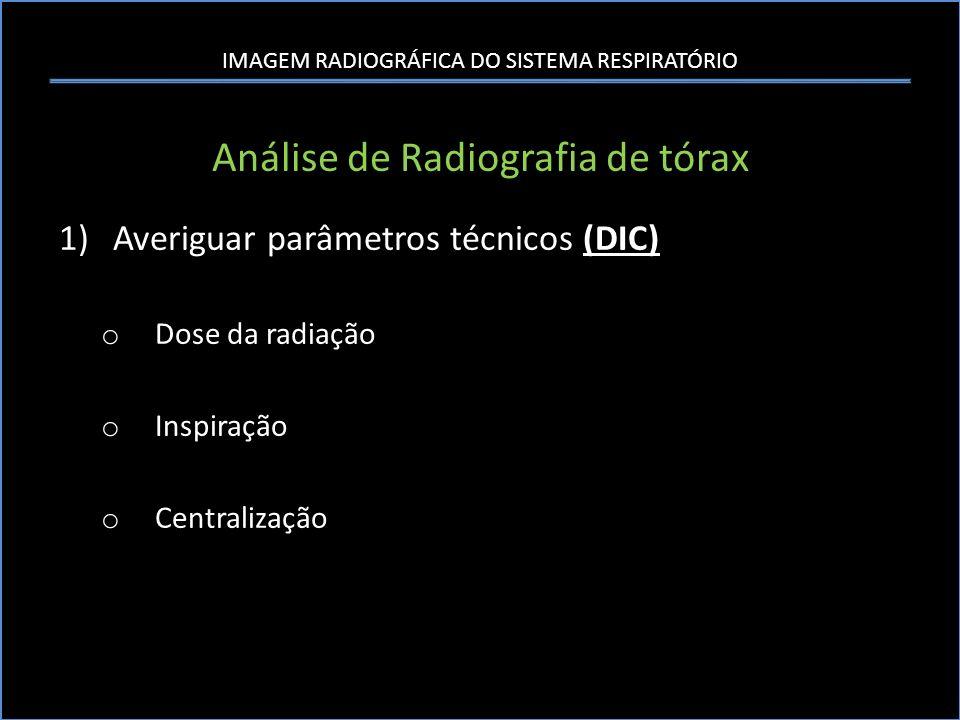 Análise de Radiografia de tórax