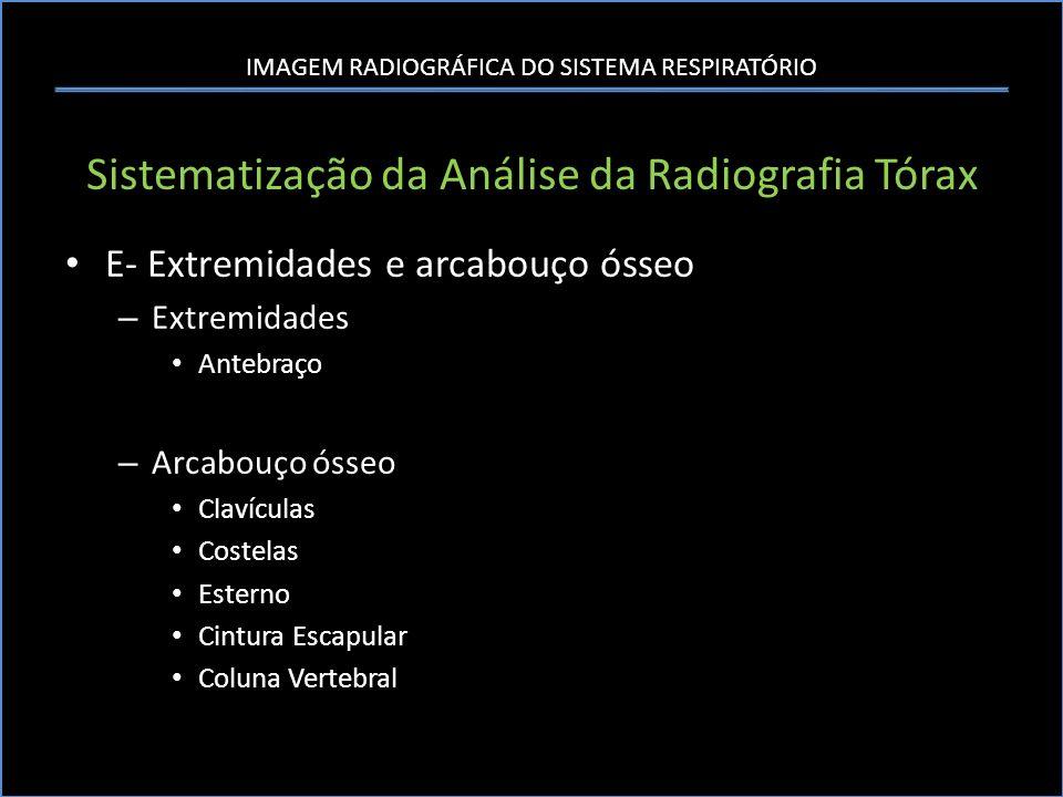 Sistematização da Análise da Radiografia Tórax