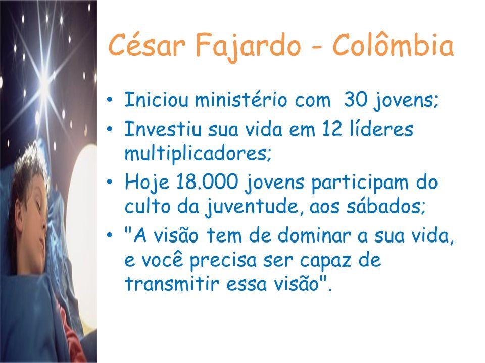 César Fajardo - Colômbia