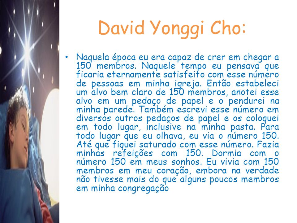David Yonggi Cho: