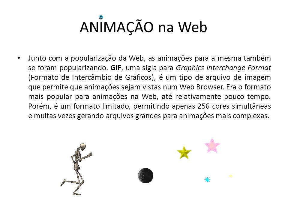 ANIMAÇÃO na Web