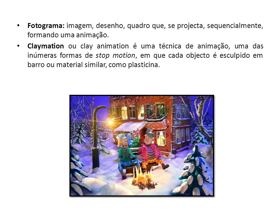 Fotograma: imagem, desenho, quadro que, se projecta, sequencialmente, formando uma animação.