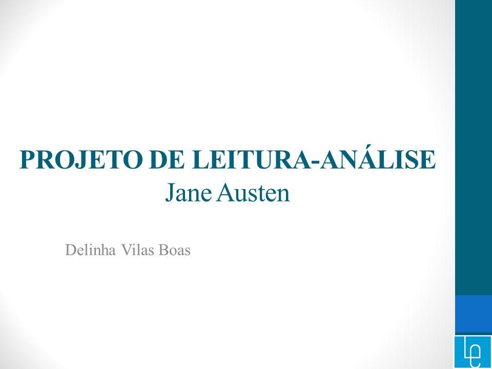 PROJETO DE LEITURA-ANÁLISE Jane Austen