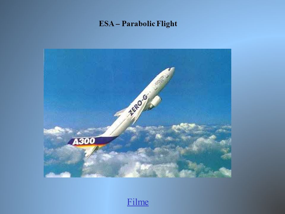 ESA – Parabolic Flight Filme