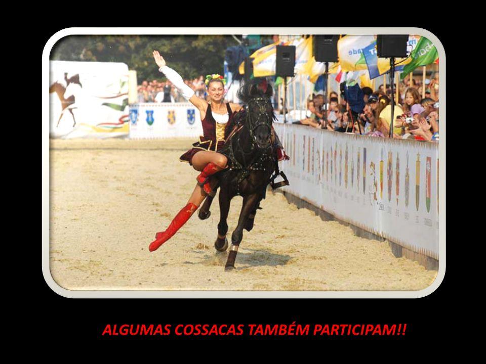 ALGUMAS COSSACAS TAMBÉM PARTICIPAM!!
