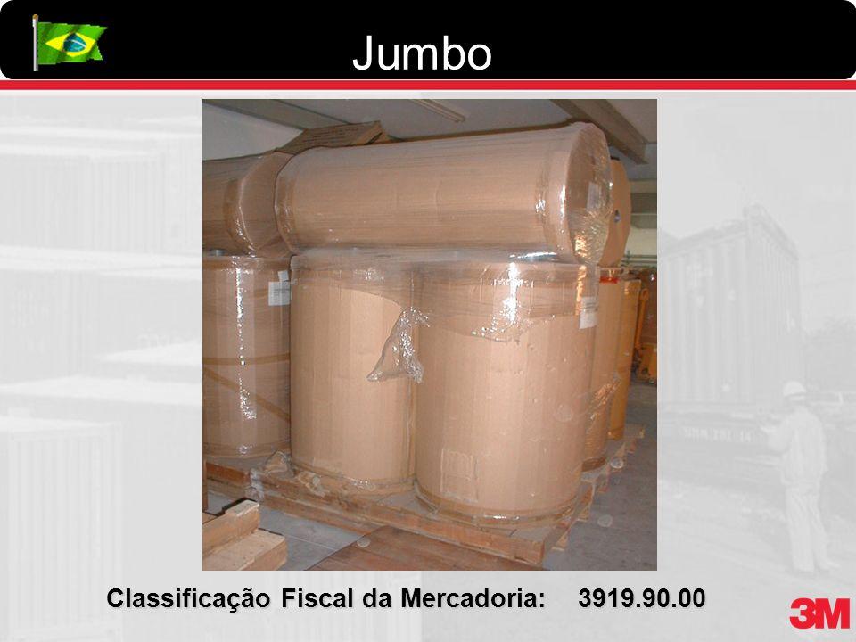 Jumbo Classificação Fiscal da Mercadoria: 3919.90.00
