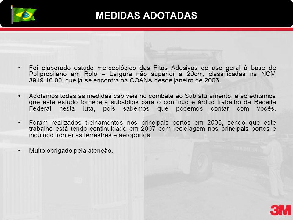 MEDIDAS ADOTADAS
