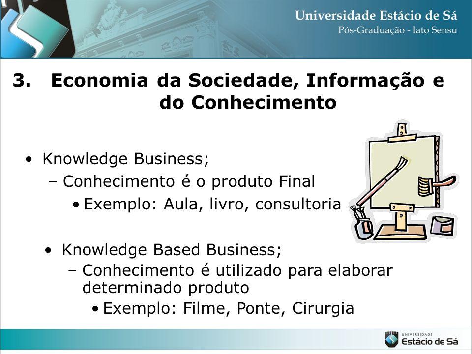 Economia da Sociedade, Informação e do Conhecimento