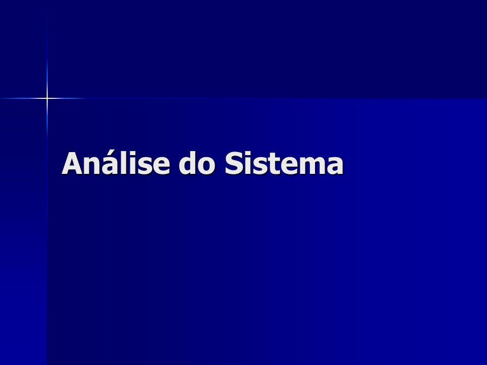 Análise do Sistema