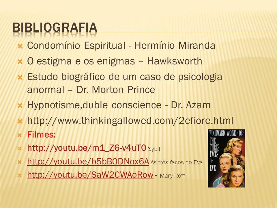 Bibliografia Condomínio Espiritual - Hermínio Miranda