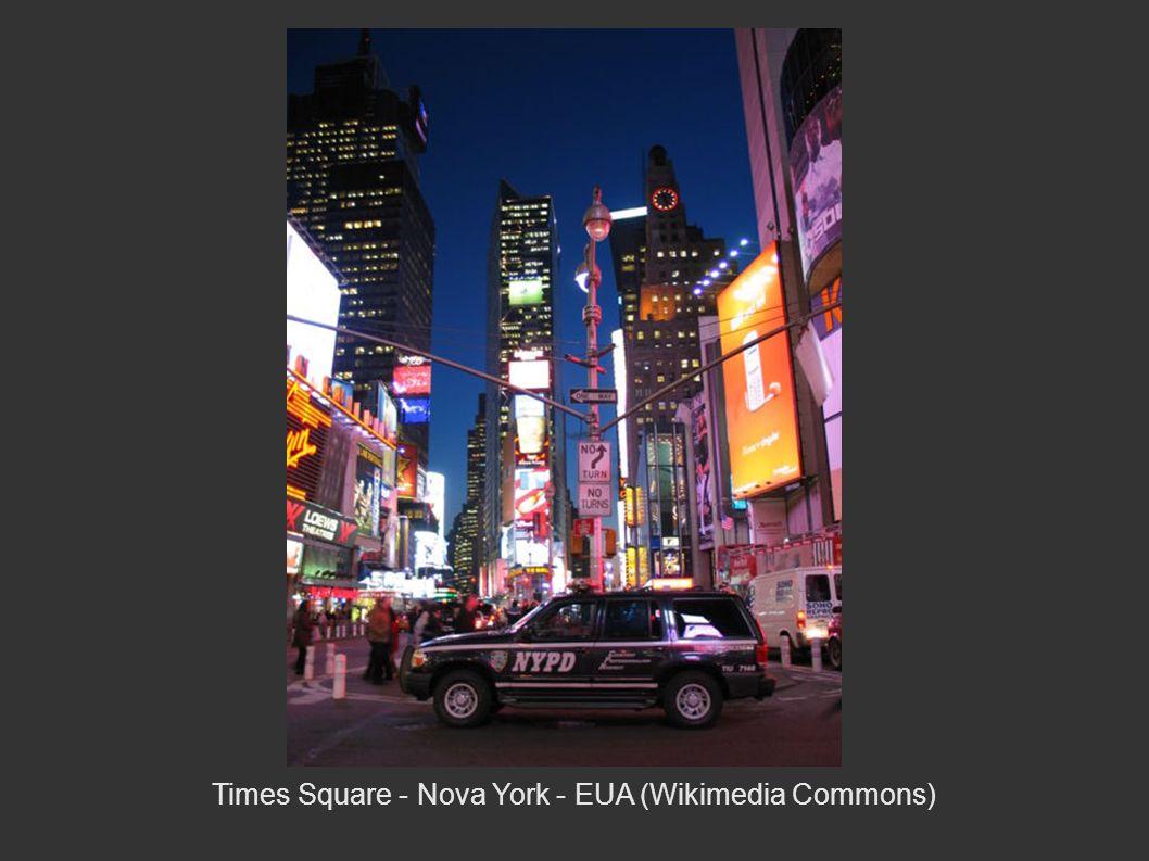 Times Square - Nova York - EUA (Wikimedia Commons)