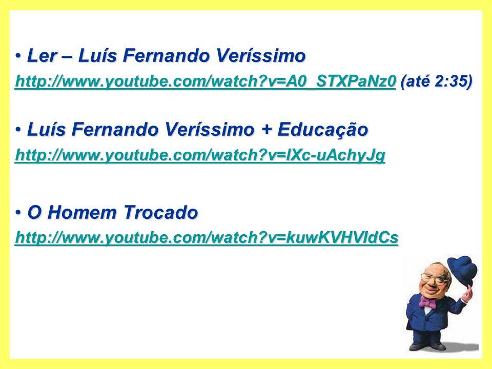 Ler – Luís Fernando Veríssimo