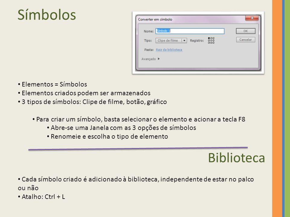 Símbolos Biblioteca Elementos = Símbolos